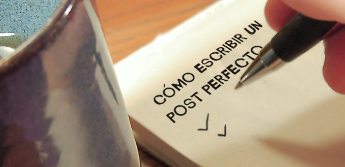 como escribir un post en un blog