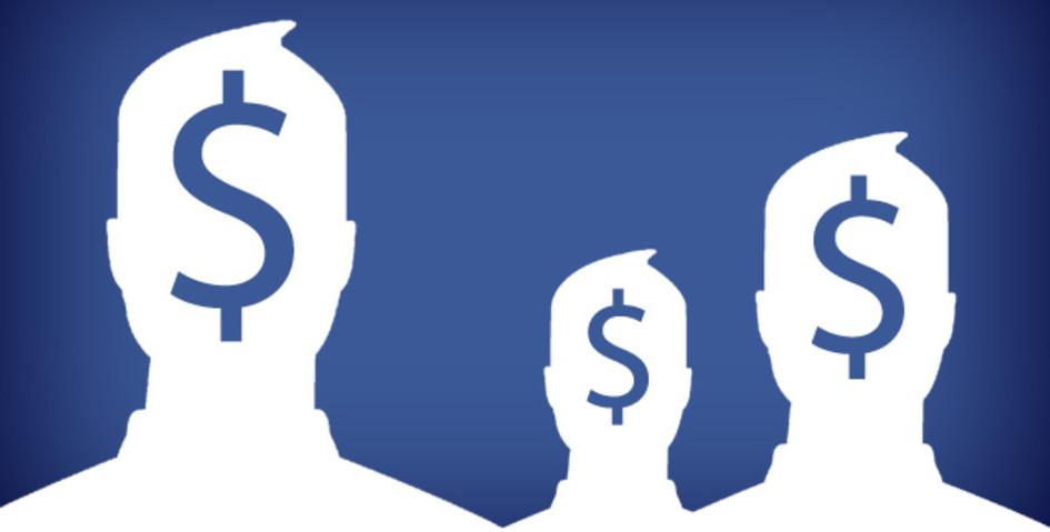 Resultado de imagen para facebook dinero