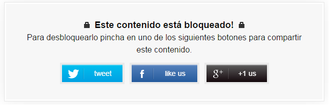 plugin social locker para wordpress