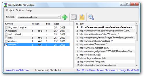 free monitor google