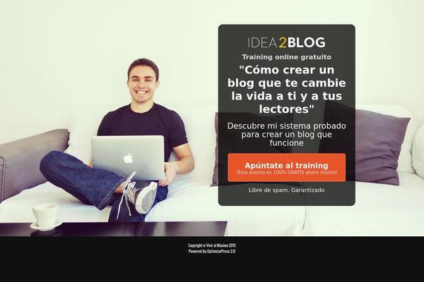 como hacer un blog para ganar dinero por internet