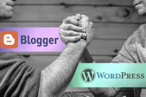 WordPress vs Blogger. ¿Que Plataforma es Mejor para Crear un Blog?