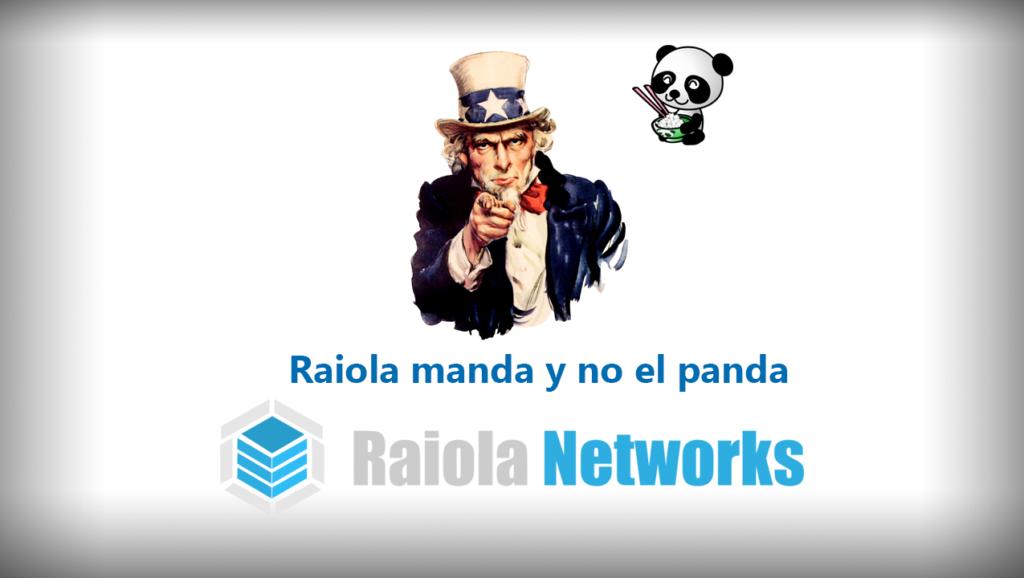 patrocinador de concurso SEO raiola manda y no el panda