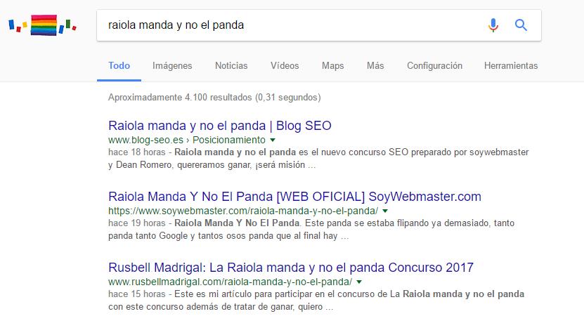 posicionamiento google raiola manda