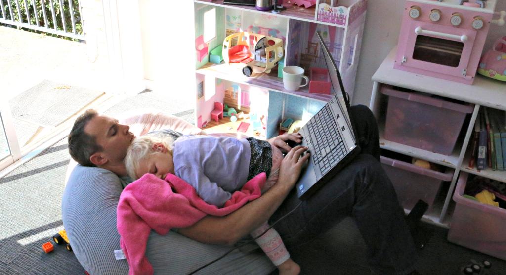 ser blogger, padre y marido