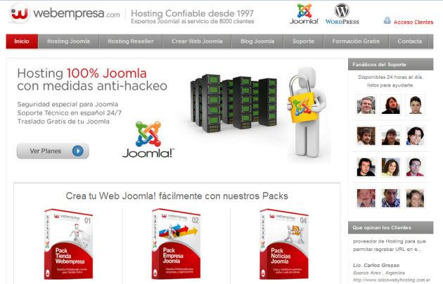 comprar hosting webempresa