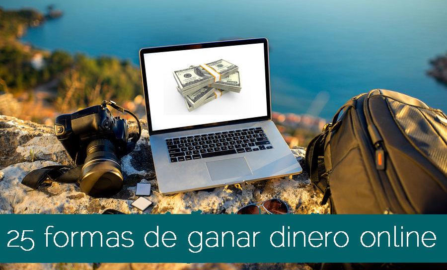 25 formas de ganar dinero online