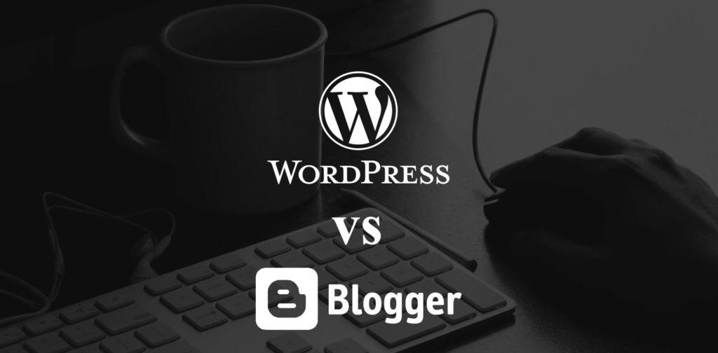 comparación wordpress y blogger