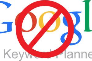 Solución para que el Planificador de Palabras clave de Google de Datos exactos