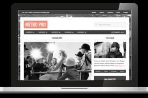 Plantilla Metro Pro del Framework de Genesis